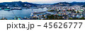 客船 長崎 夕景の写真 45626777