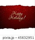 フレーム 額縁 クリスマスのイラスト 45632951