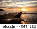 【千葉県】原岡桟橋の夕日 45634188