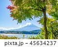 富士山 河口湖 世界遺産の写真 45634237