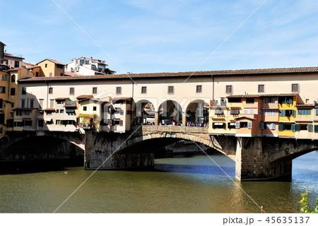 Ponte Vecchio ヴェッキオ橋 フィレンツェ 45635137
