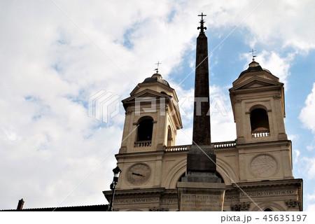 Chiesa della Trinita dei Monte トリニタ・デイ・モンティ教会 ローマ 45635197