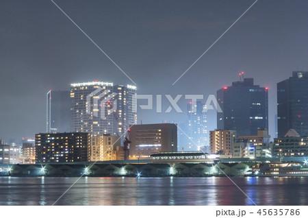 東京サイバーパンク夜景 45635786