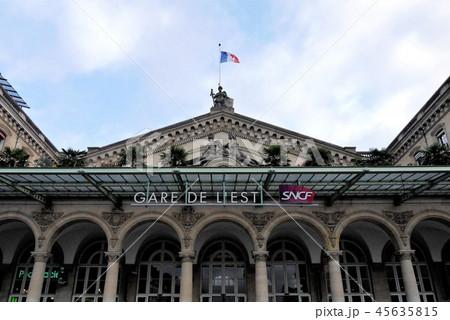 Gare de l'Est 東駅 パリ 45635815