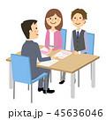 夫婦 打ち合わせ 商談のイラスト 45636046