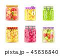 プリザーブド 食 料理のイラスト 45636840