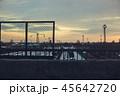 線路 鉄路 トラックの写真 45642720