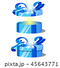 マンガ ギフト プレゼントのイラスト 45643771