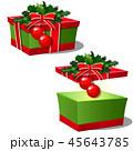 マンガ ギフト プレゼントのイラスト 45643785
