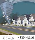 サイクロン ハリケーン トルネードのイラスト 45644819