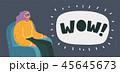 シネマ 映画 映画館のイラスト 45645673