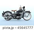 乗り物 バイク オートバイのイラスト 45645777