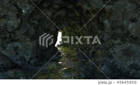 洞窟のイラスト素材 45645950 Pixta