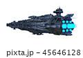 宇宙船 宇宙ステーション スペースシップのイラスト 45646128