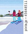 ウィンター ウインター 冬のイラスト 45648511