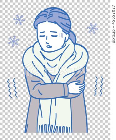 A cold lady 45652027