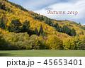 アロータウン 秋 背景の写真 45653401