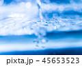 水 青 水滴の写真 45653523