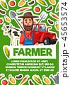 農民 農業 人のイラスト 45653574