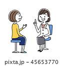 女医 ベクター 診察のイラスト 45653770