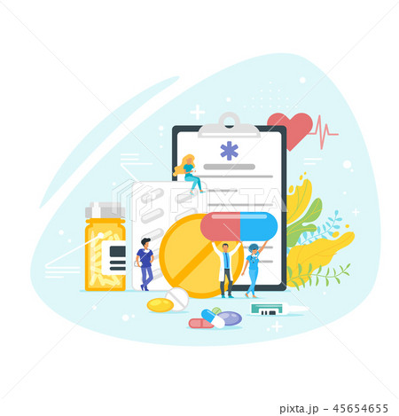 Medication and pharmacy concept.  45654655