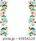 和柄 柄 背景素材のイラスト 45656120