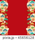 和柄 柄 背景素材のイラスト 45656128