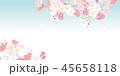 桜 春 花のイラスト 45658118
