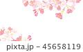 桜 春 春イメージのイラスト 45658119