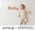 赤ちゃん ベビー 子どもの写真 45659421