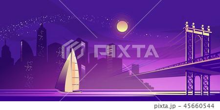 abstract night city 45660544