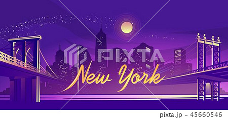 abstract night city 45660546