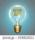 クリスマス ベクトル 電球のイラスト 45662621