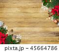 背景-木目-クリスマス-飾り 45664786