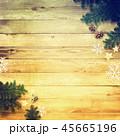 背景-木目-クリスマス-飾り 45665196