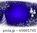 バックグラウンド 背景 クリスマスのイラスト 45665745
