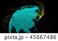 グローバル グローバルネットワーク 地球のイラスト 45667486