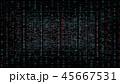 サイバー 背景 バックグラウンドのイラスト 45667531