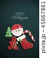 クリスマス クッキー お菓子の写真 45667861