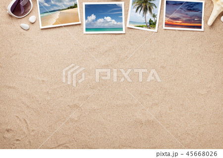 Travel vacation background concept 45668026