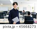 エンジニア ビジネス ビジネスマンの写真 45668273
