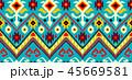 ジオメトリック 幾何学的 パターンのイラスト 45669581