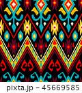 ジオメトリック 幾何学的 パターンのイラスト 45669585