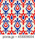 ジオメトリック 幾何学的 パターンのイラスト 45669604