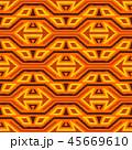ジオメトリック 幾何学的 パターンのイラスト 45669610