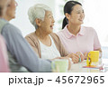 介護 女性 シニアの写真 45672965