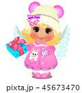 天使 かわいい キュートのイラスト 45673470
