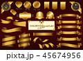 ゴールドメダル&リボンセット 45674956