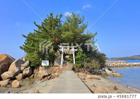 箱島神社 海に浮かぶパワースポット神社(福岡県糸島市) 45681777