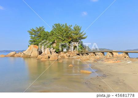 箱島神社 海に浮かぶパワースポット神社(福岡県糸島市) 45681778